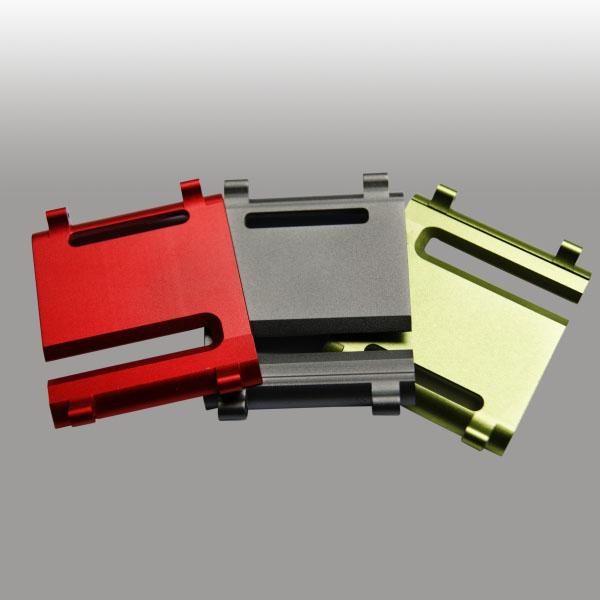 Validated Aluminum Anodizing - Available in Colors