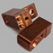 CNC machined/milling/lathe brass/copper/bronze parts for fit
